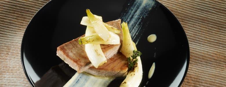 Combinar pescado azul con verduras vegetales 2