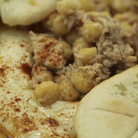 Hummus Atún campos