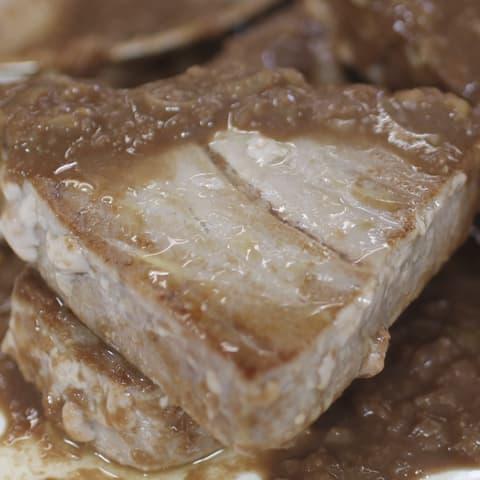 Solomillos de Atún Campos con Chocolate
