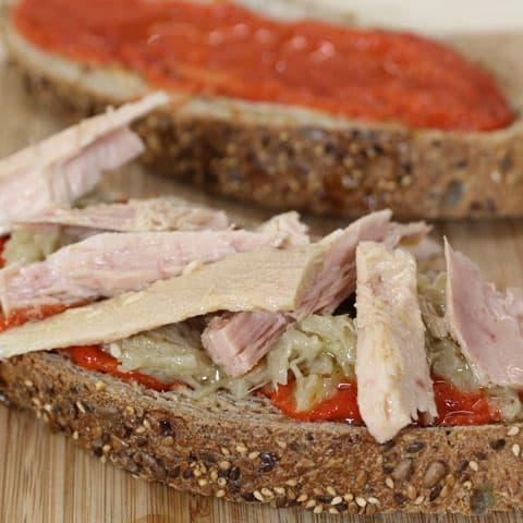 Sandwich de bonito Campos deluxe